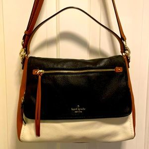 Kate Spade tri-tone shoulder & cross body purse